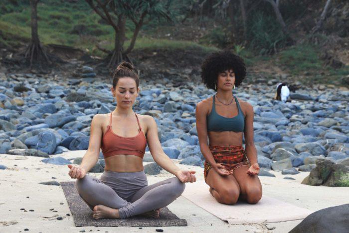 Eco-friendly Yoga Mat Beach - Byron Bay Yoga Mats
